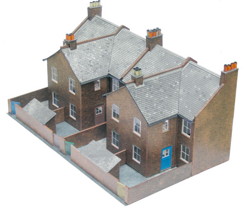 Superquick C Series Model Kit C5 Low Relief Terraced House Backs